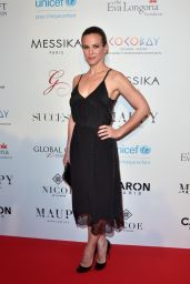 Lorie Pester on Red Carpet - Global Gift Gala in Paris 05/16/2017