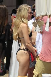 Lottie Moss in Bikini - Holiday in Marbella 05/27/2017