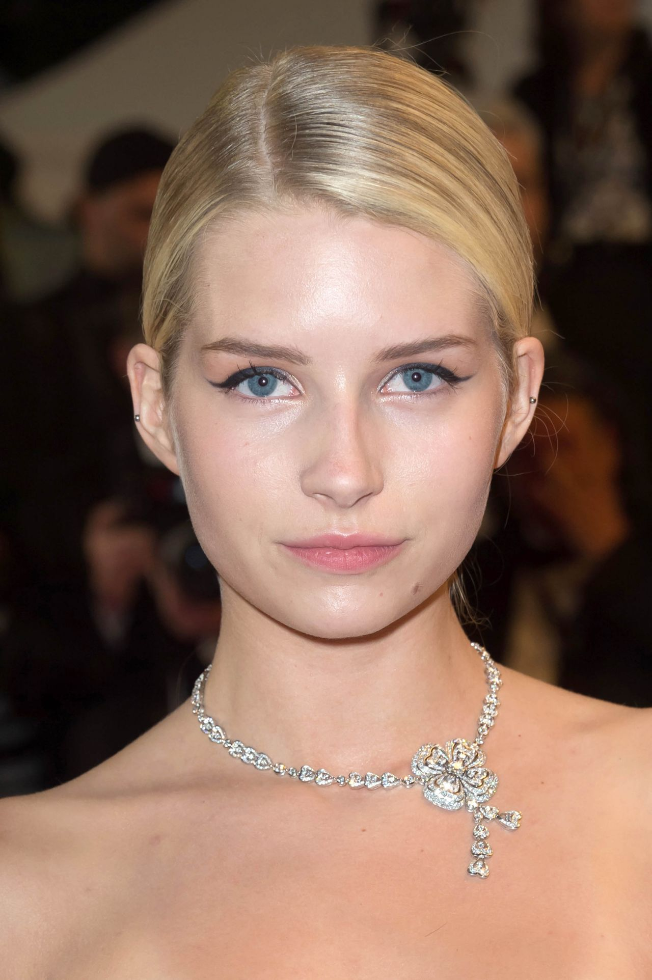 """Lottie Moss on Red Carpet - """"The Square"""" Premiere in Cannes 05/20/2017"""