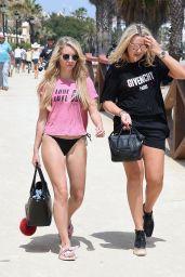 Lottie Moss Shows Off Her Bikini Body - Marbella, Spain 05/27/2017