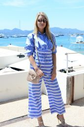 Lottie Moss Style and Fashion - Leaving Martinez Beach in Cannes 05/21/2017
