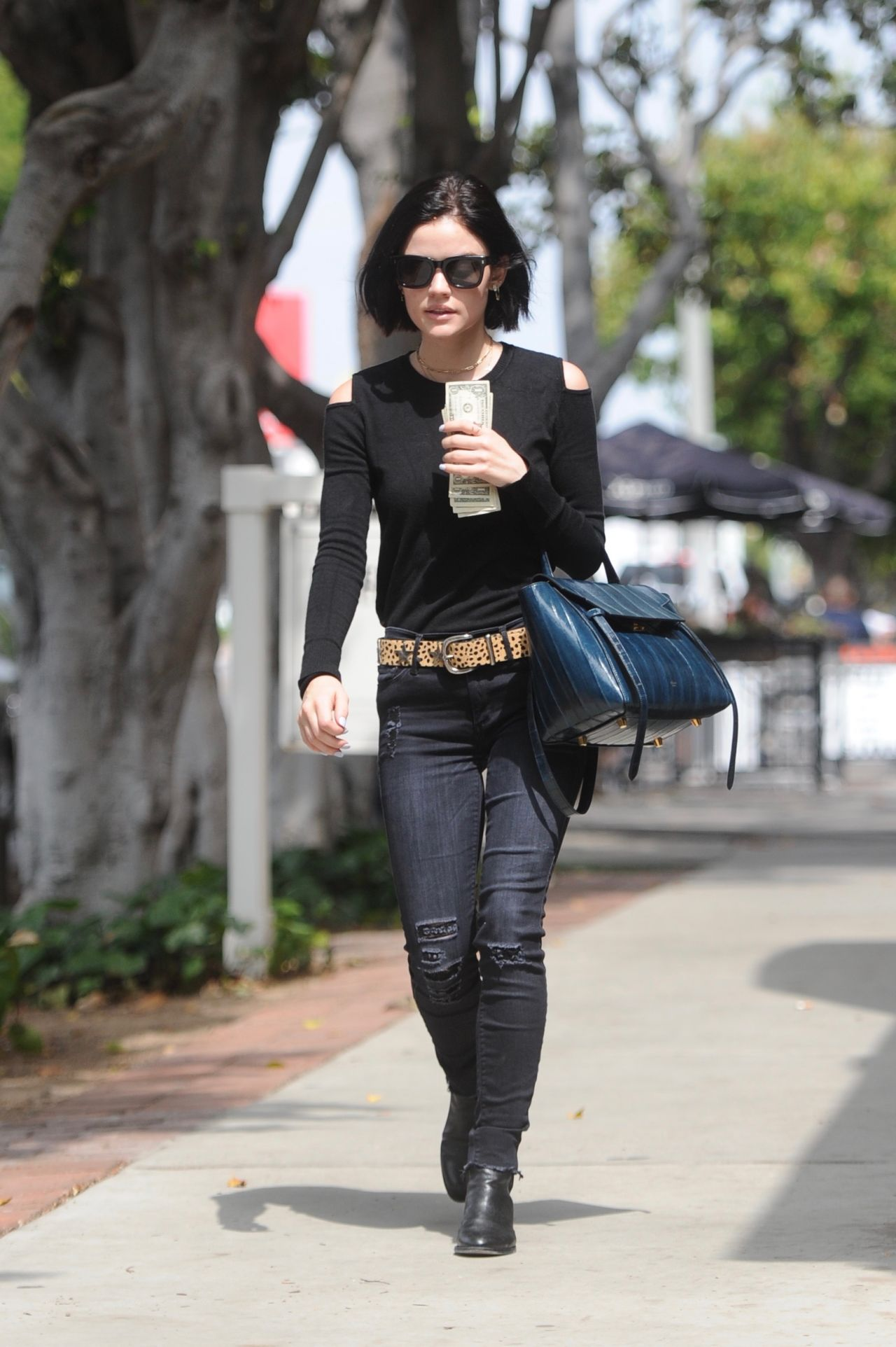 lucy hale outfit ideas shopping on melrose place ca 05 09 2017