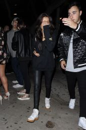 "Madison Beer Casual Style - Leaves ""The Peppermint Club"" in West Hollywood 05/15/2017"