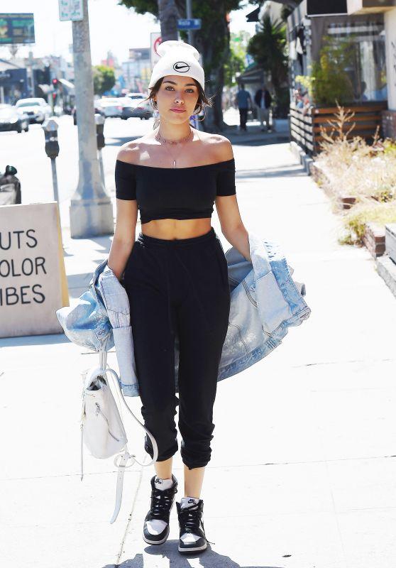 Madison Beer Urban Street Fashion - Los Angeles 05/18/2017