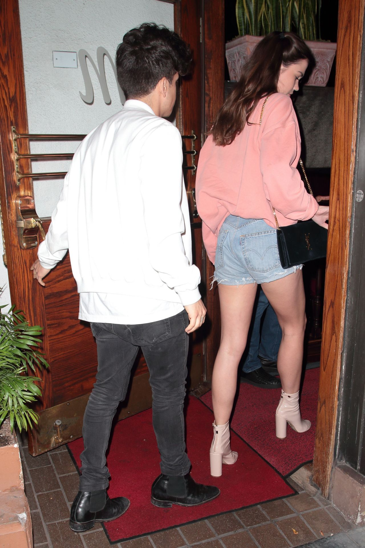 Maia Mitchell Night Out Style - Arriving at Madeo ... | 1280 x 1920 jpeg 352kB
