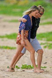 Margot Robbie - Beach in Kauai, Hawaiii 05/13/2017