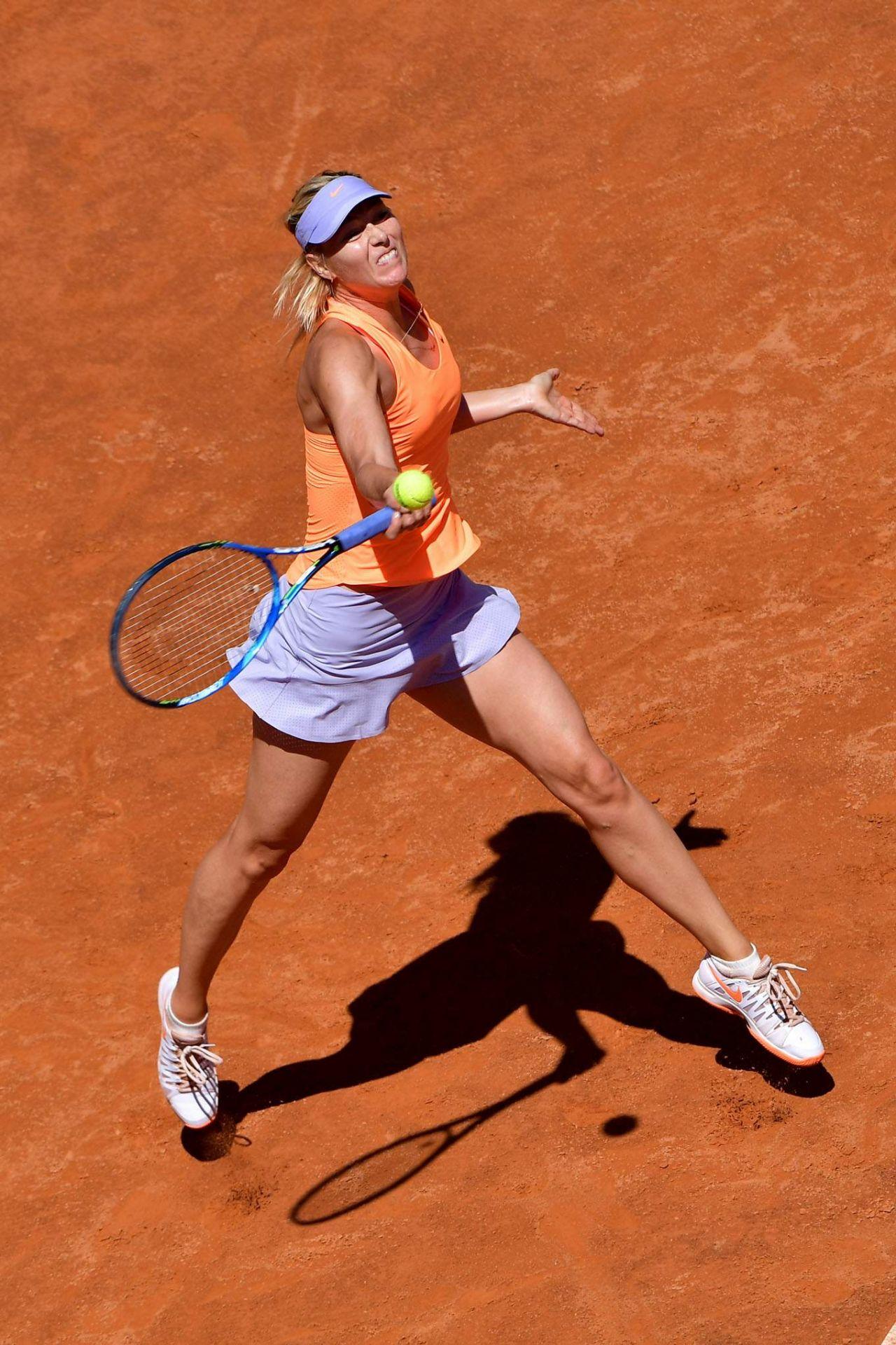 Maria Sharapova At The Italian Open In Rome 05 15 2017