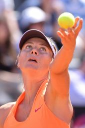 Maria Sharapova at the Italian Open in Rome 05/15/2017