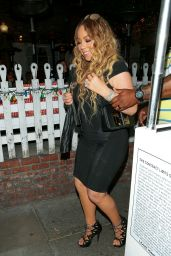 Mariah Carey at The Ivy Restaurant in Beverly Hills 05/30/2017