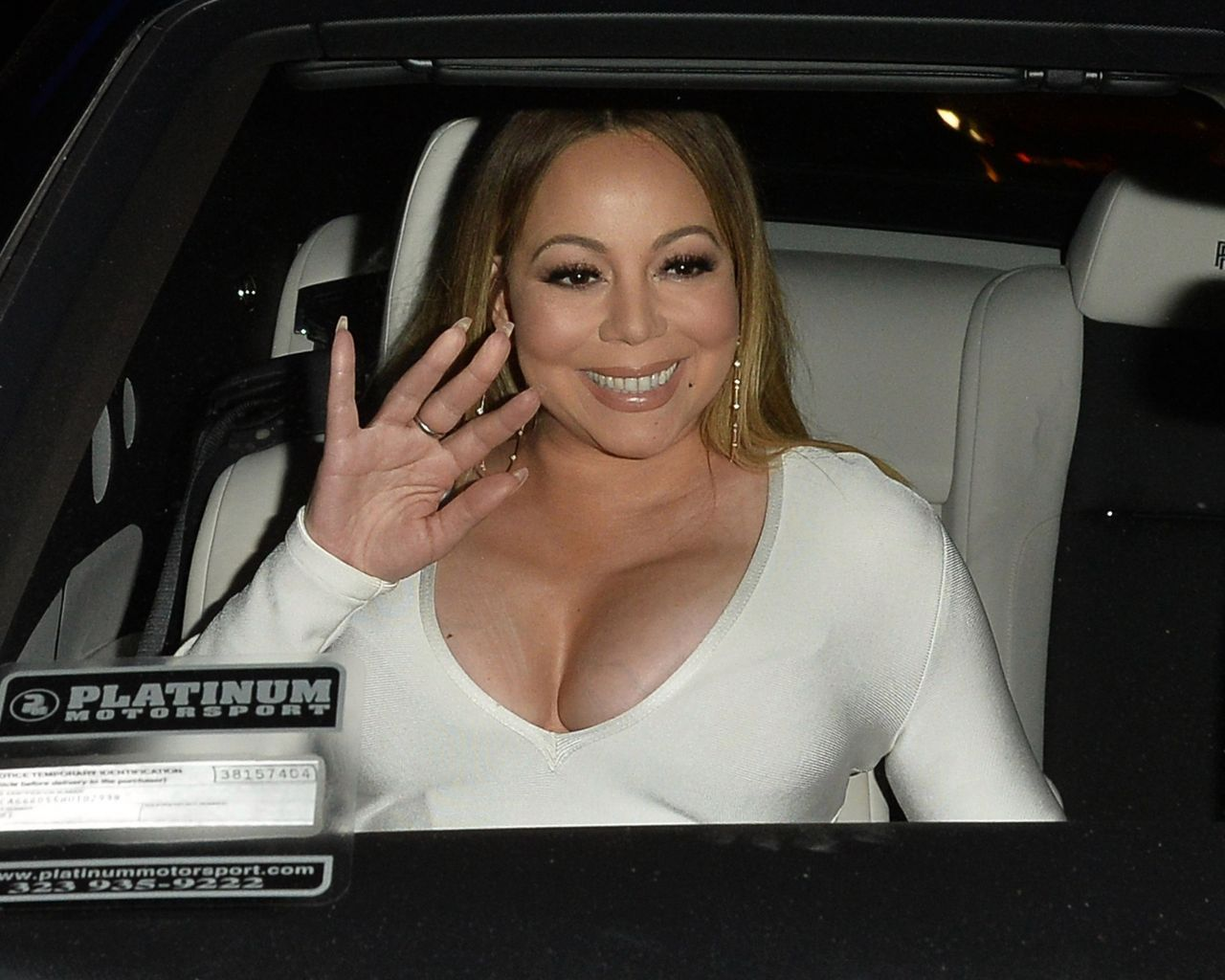 Mariah Carey Night Out In Los Angeles 05 04 2017