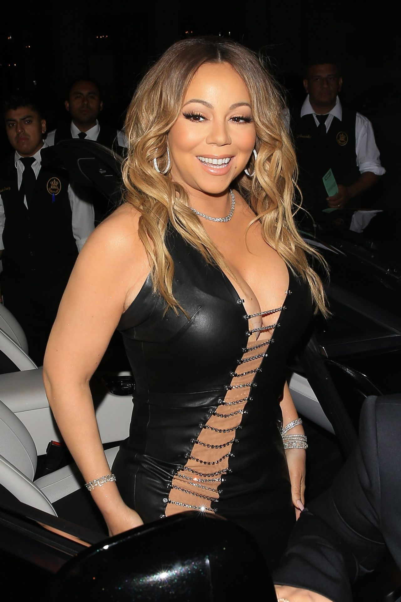 Mariah Carey Night Out Style Catch La In West Hollywood