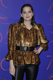 Marion Cotillard – Love On The Rocks Photocall Party at Eden Roc in Cap d'Antibes, France 05/23/2017