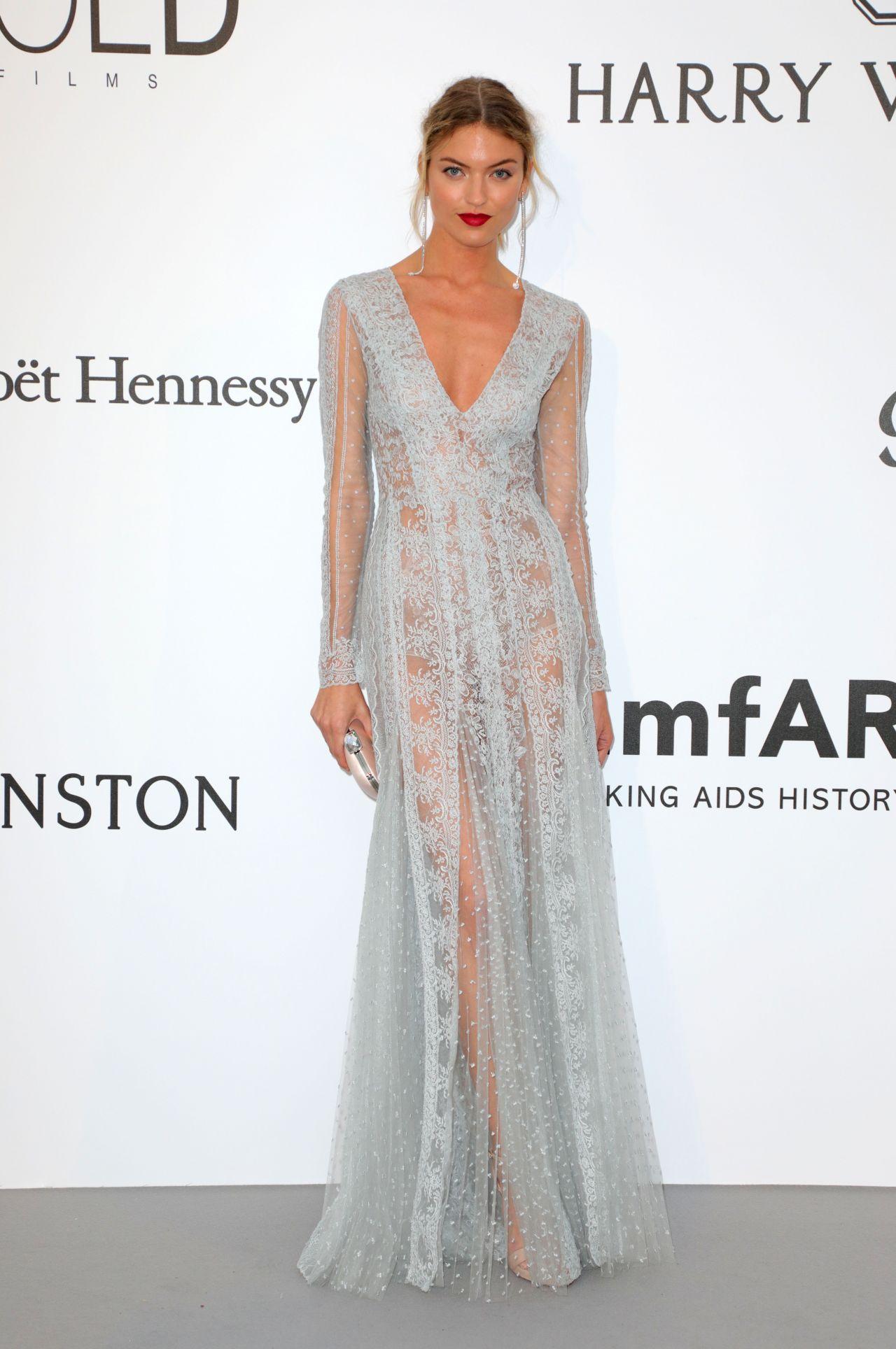 Martha Hunt – amfAR's 24th Cinema Against AIDS Gala in ...