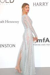 Martha Hunt – amfAR's 24th Cinema Against AIDS Gala in Cannes 05/25/2017