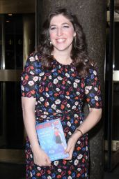 """Mayim Bialik - Promoting Her New Book """"Girling Up How To Be Strong, Smart and Spectacular"""" in NY 05/11/2017"""