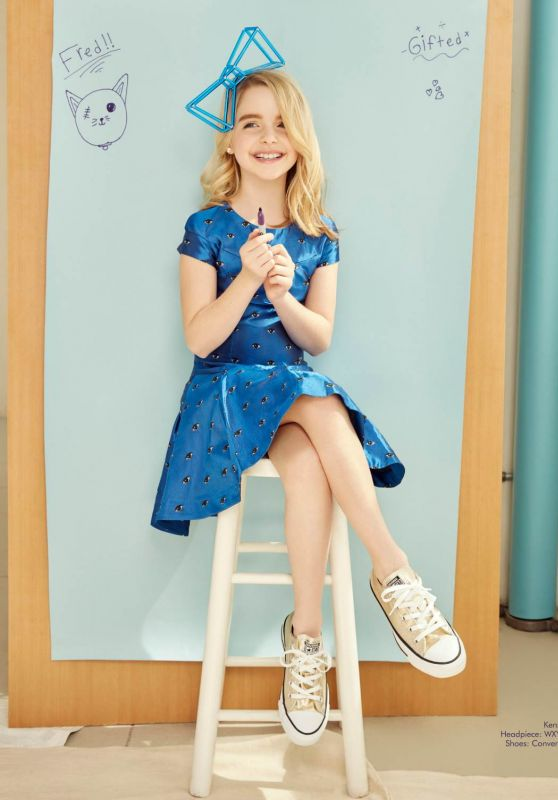 Mckenna Grace Posh Kids Magazine May June 2017 Issue