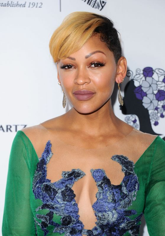 Meagan Good - Wearable Art Gala in California African American Museum in LA 04/29/2017