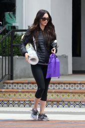 Megan Fox - Leaving a Yoga Class in Malibu. 05/27/2017