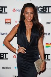 Michelle Heaton - British LGBT Awards in London, UK 05/12/2017