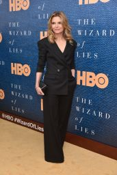 """Michelle Pfeiffer - """"The Wizard of Lies"""" Screening in New York City 05/11/2017"""