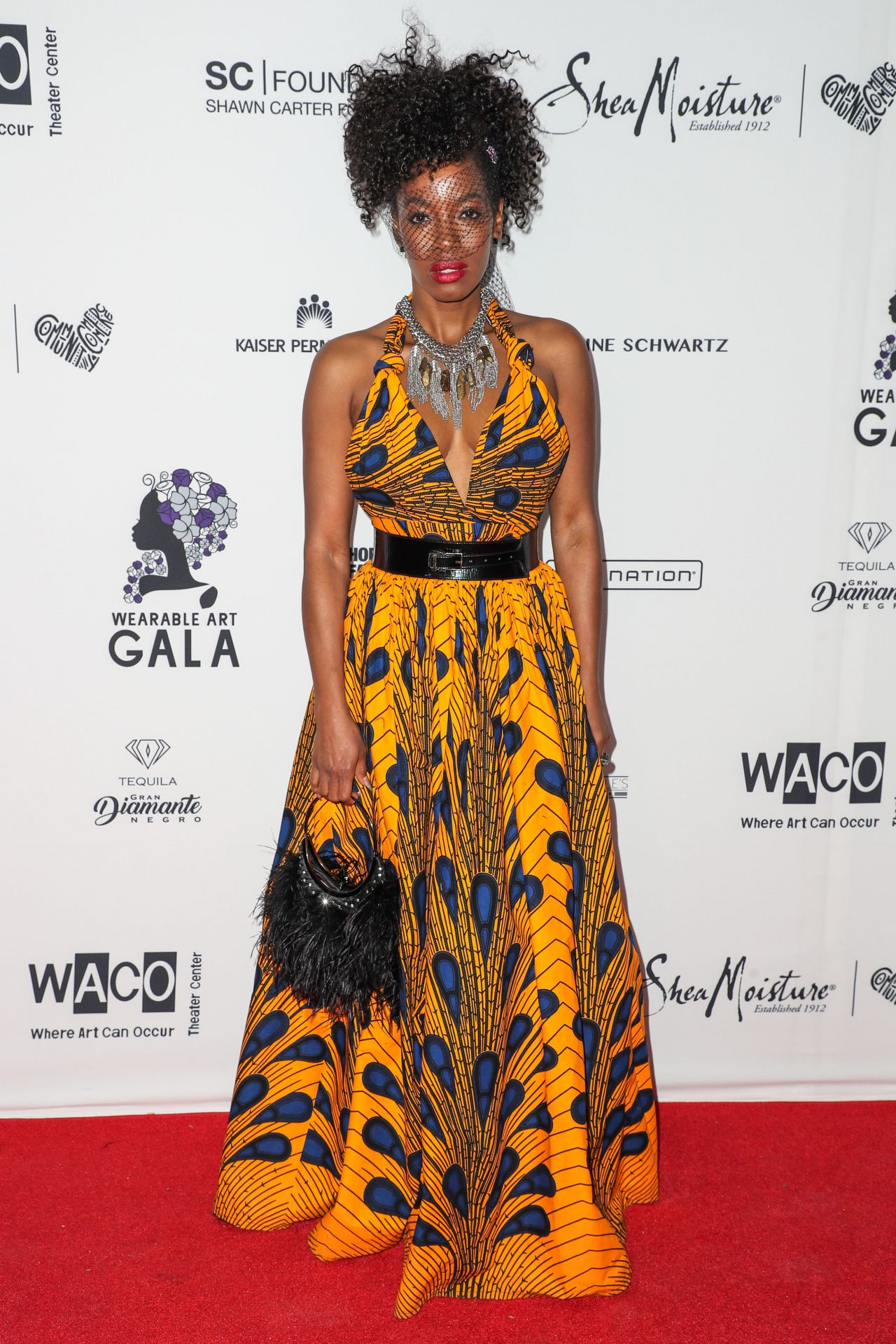 Milauna Jackson Wearable Art Gala In California African