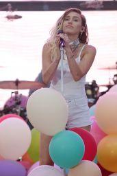Miley Cyrus Performing at 102.7 KIIS FM