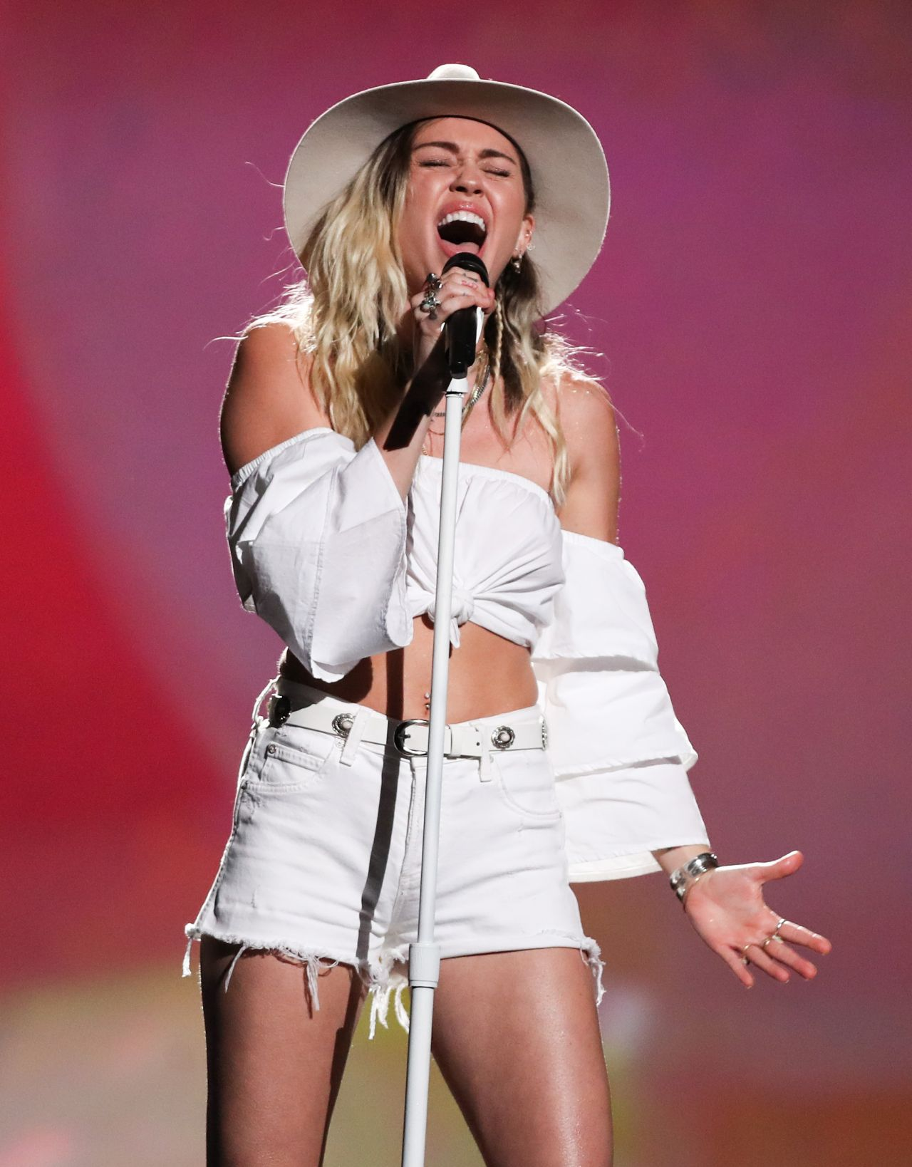 Miley Cyrus October 2017
