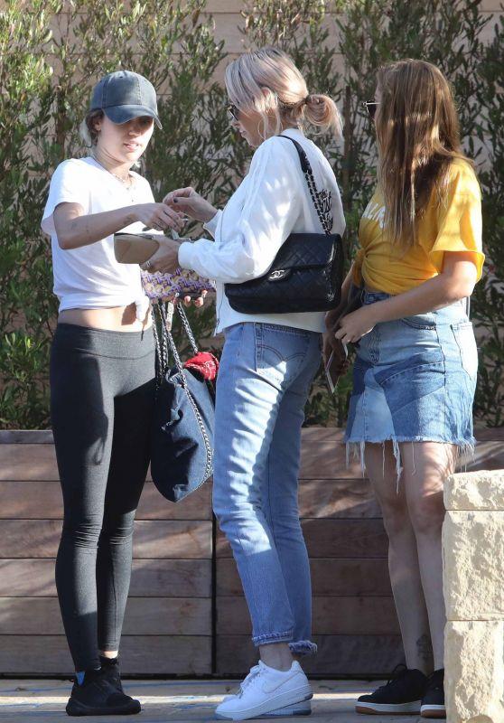 Miley Cyrus Street Style - at Soho House in Malibu 05/02/2017