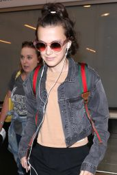 Millie Bobby Brown - LAX Airport in LA 05/08/2017
