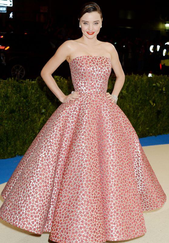 Miranda Kerr – Rei Kawakubo/Comme des Garcons: Art Of The In-Between Costume Institute Gala in New York 05/01/2017