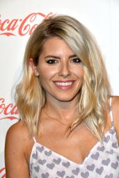 Mollie King – Coca-Cola Summer Party in London 05/10/2017