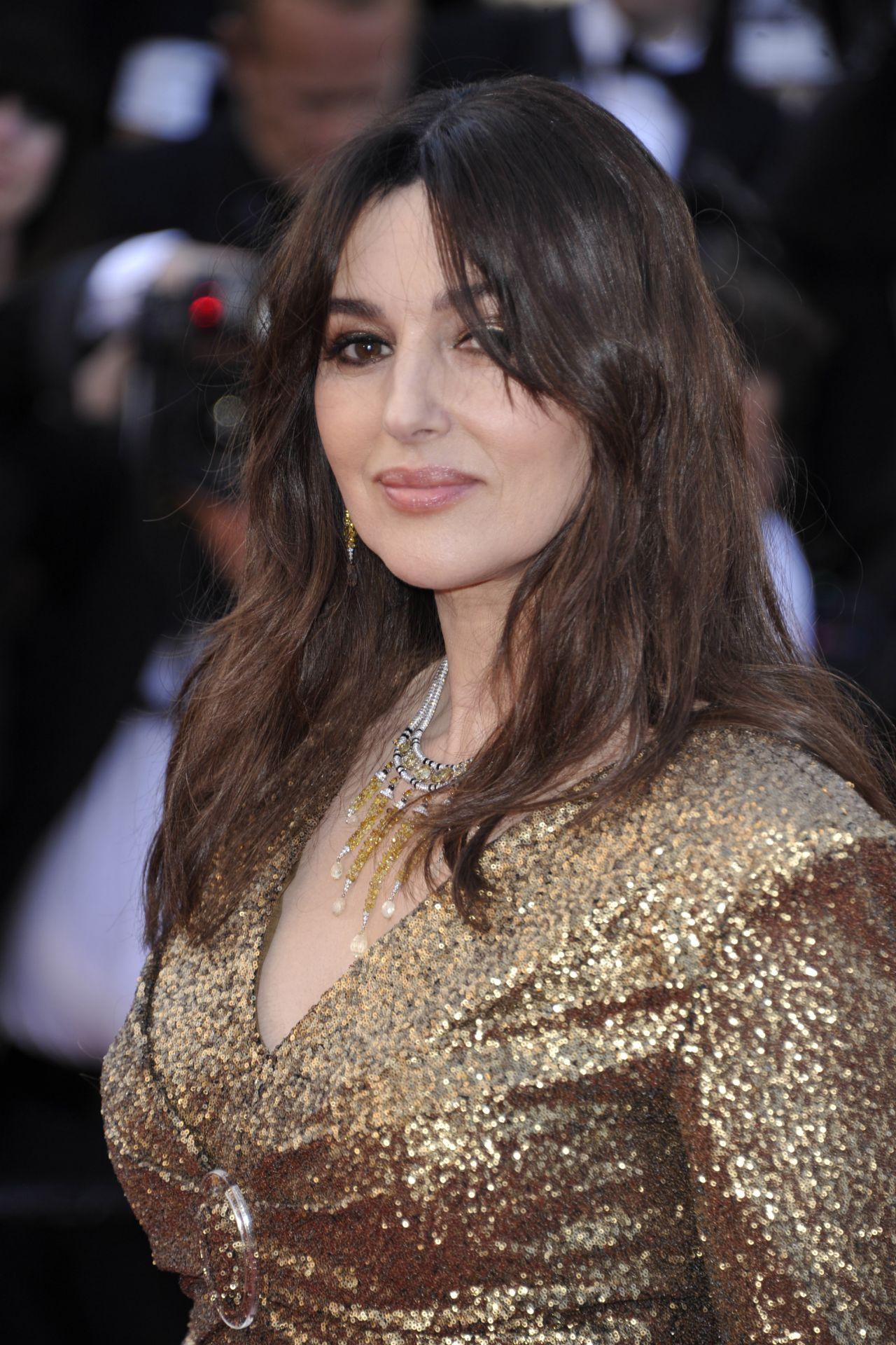 Monica Bellucci Anniversary Soiree At Cannes Film
