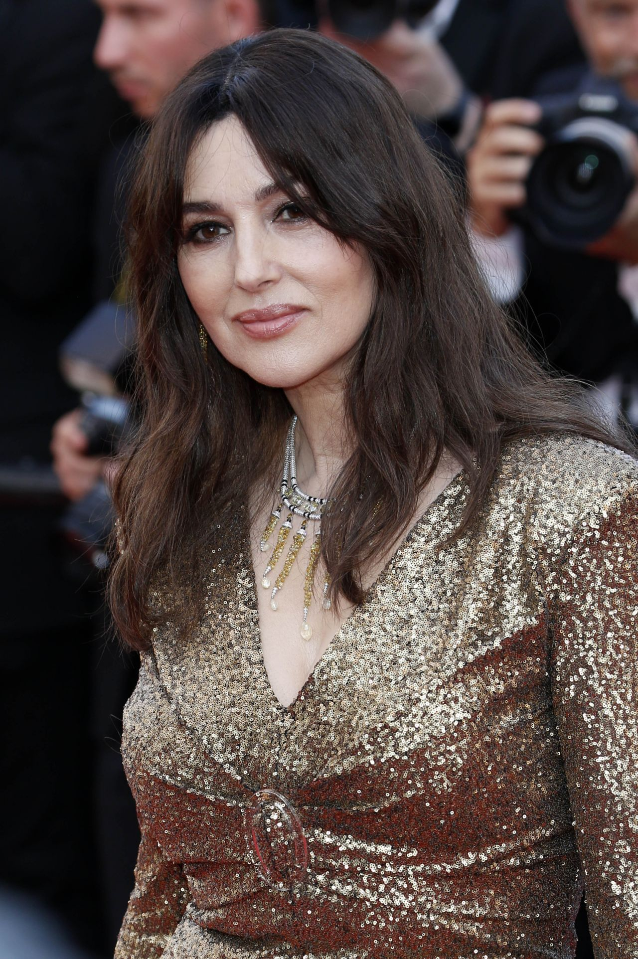 Monica Bellucci - Anniversary Soiree at Cannes Film ... Monica Bellucci