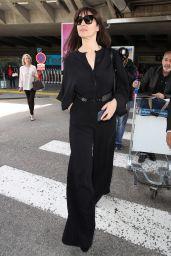 Monica Bellucci - Arriving at the Nice Airport 05/15/2017