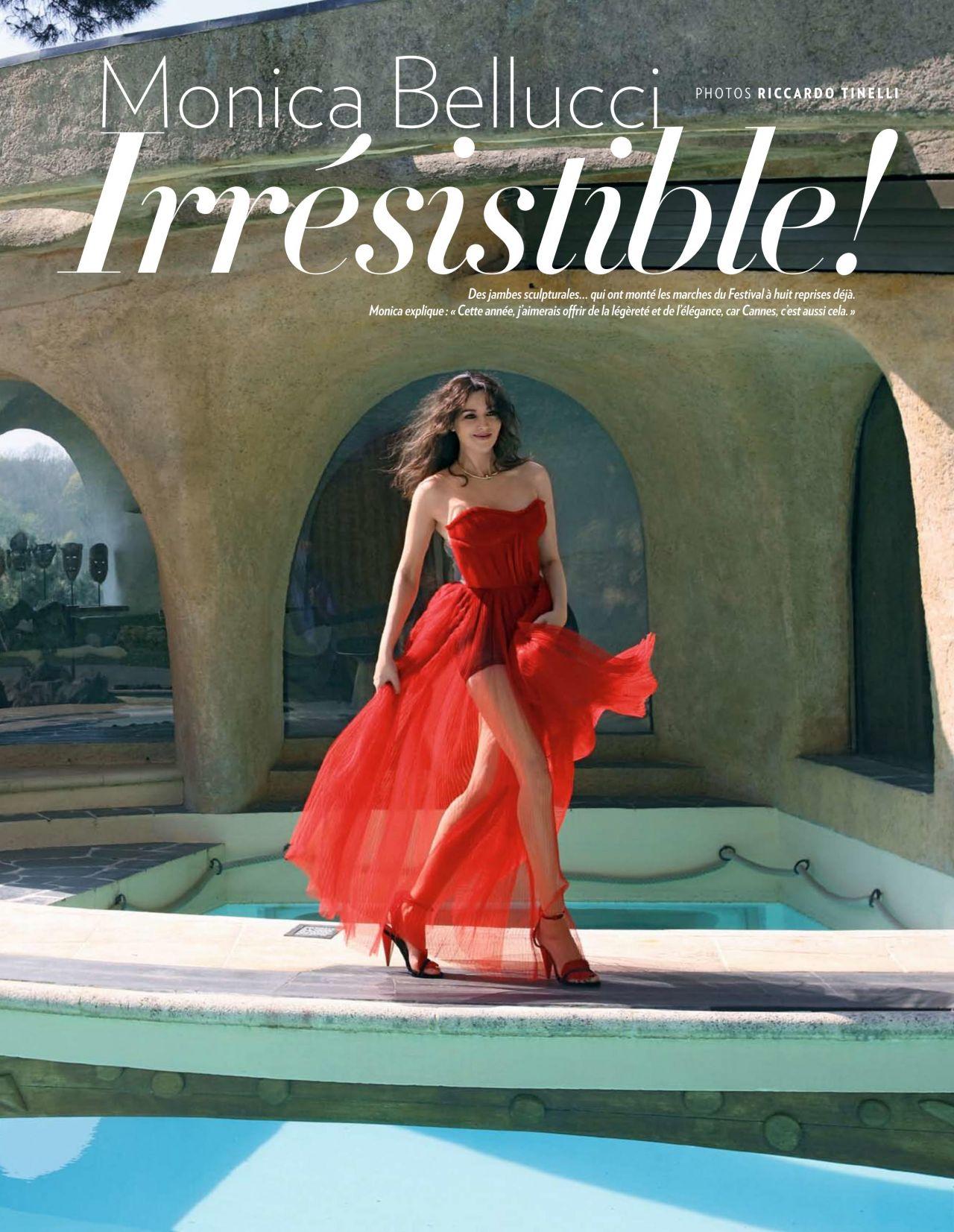 Monica bellucci paris match magazine may 2019 issue - 2019 year