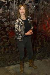 "Natalia Tena – ""Our Ladies of Perpetual Succour"" Press Night in London 05/15/2017"