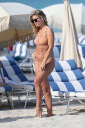 Natasha Oakley and Devin Brugman in Bikini at the Beach in Miami 05/04/2017