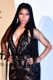 Nicki Minaj – AmfAR's 24th Cinema Against AIDS Gala – Cannes Film Festival 05/25/2017