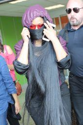 Nicki Minaj in Travel Outfit - Nice Airport, May 2017