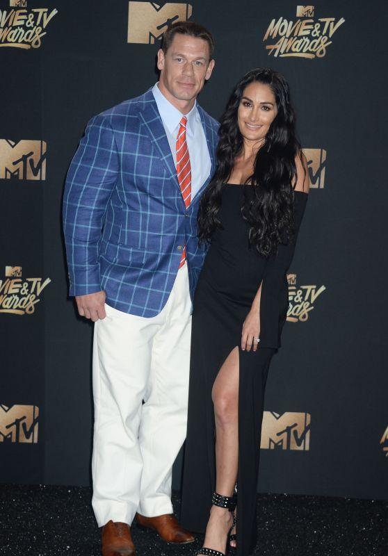 Nikki Bella - MTV Movie & TV Awards in Los Angeles 05/07/2017