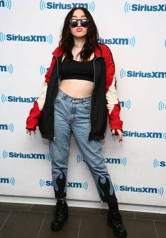 Noah Cyrus - SiriusXM Studios in New York City 05/25/2017