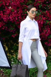 Olivia Culpo -  BTS Photoshoot in Hollywood 05/10/2017
