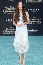 """Olivia Rodrigo – """"Pirates of the Caribbean: Dead Men Tell no Tales"""" Premiere in LA 05/18/2017"""