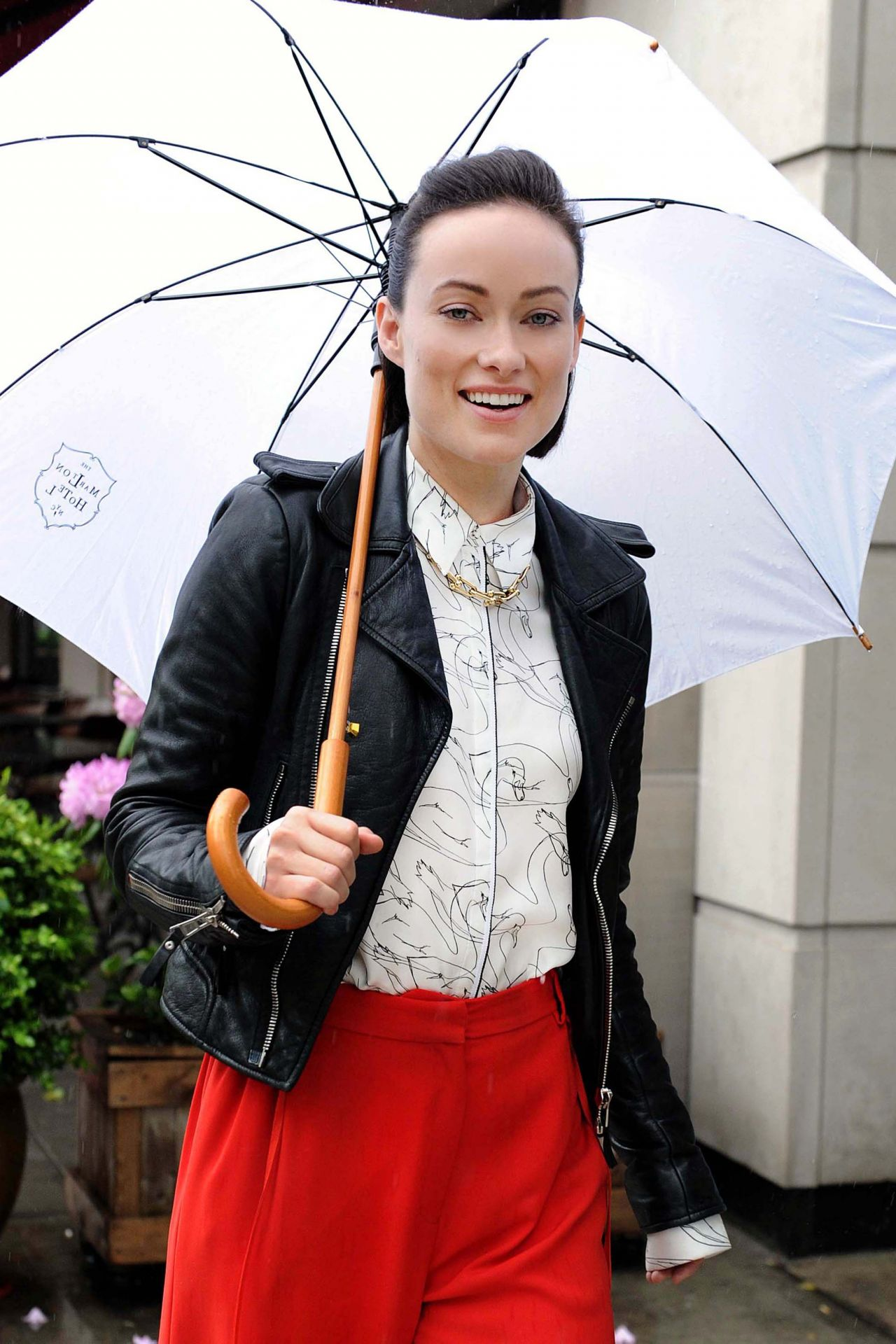 Olivia Wilde Style - Out and About in New York, May 2017