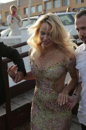 Pamela Anderson - Opening of Playa Padre in Marbella 05/27/2017