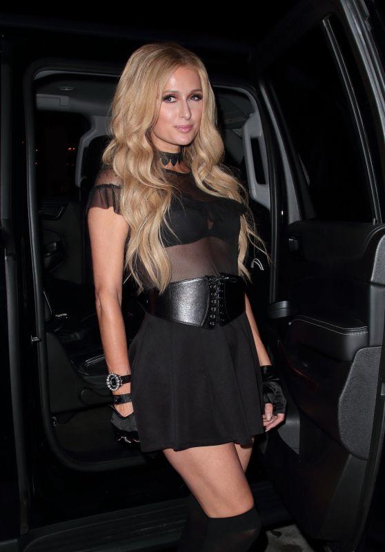 Paris Hilton at Catch LA in West Hollywood 05/05/2017