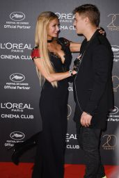 Paris Hilton at L'Oreal 20th Anniversary Party in Cannes 05/24/2017