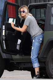 Paris Jackson in Ripped Jeans - Hollywood 05/27/2017