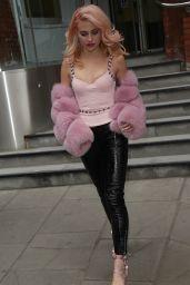 Pixie Lott Style - Exits TV Studios in London 05/04/2017