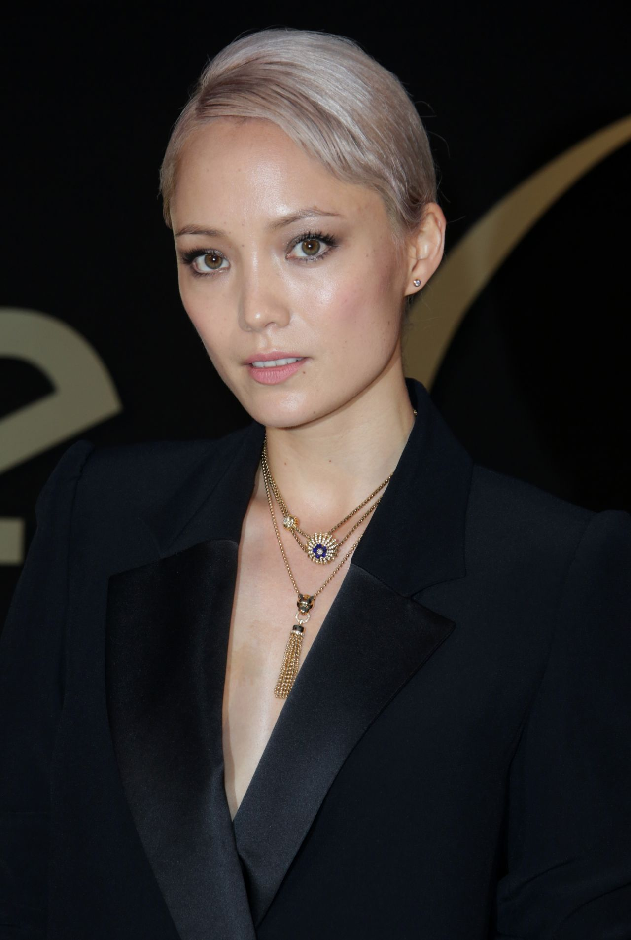 Pom Klementieff  Panthere de Cartier Watch Launch in LA - Goth Hairstyles